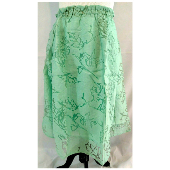 Lane Bryant Dresses & Skirts - Lane Bryant Skirt Plus 22 24 Mint Green Crinkle
